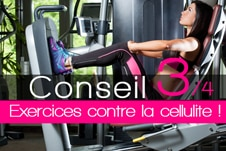 Quels exercices pour perdre la cellulite ?