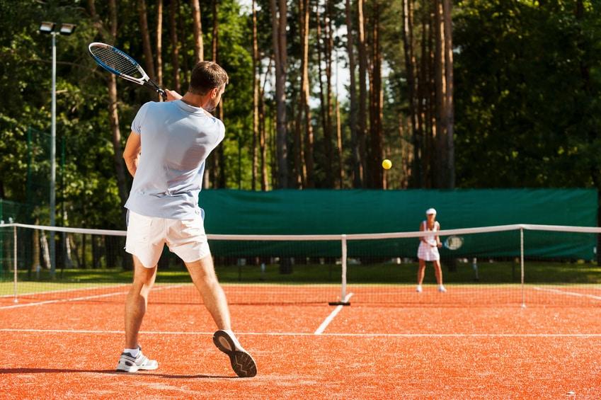 Dépenses caloriques consommées pour le tennis