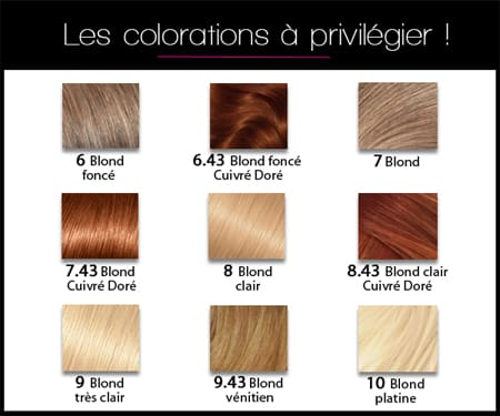 Coloration cheveux 6 3