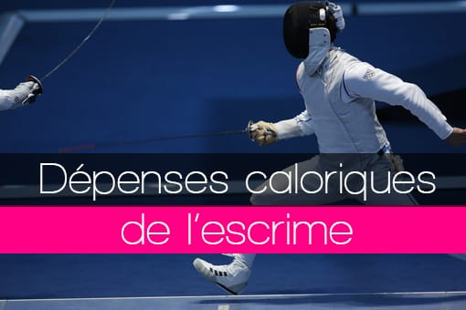 Dépenses en calories de l'escrime