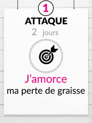 Phase d'attaque S, 2 jours