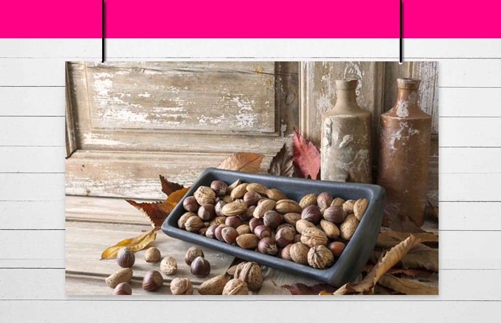Famille des graines oléagineuses, fruits oléagineux et châtaignes