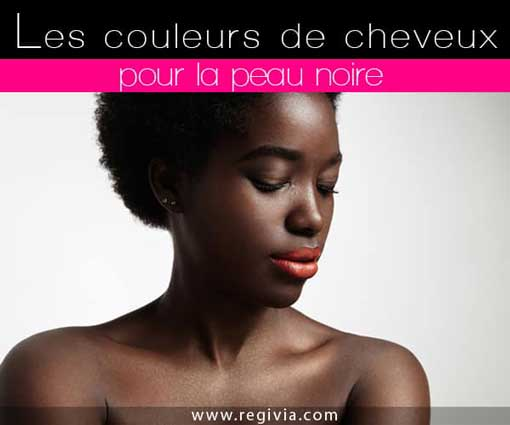 Coloration chocolat cheveux afro