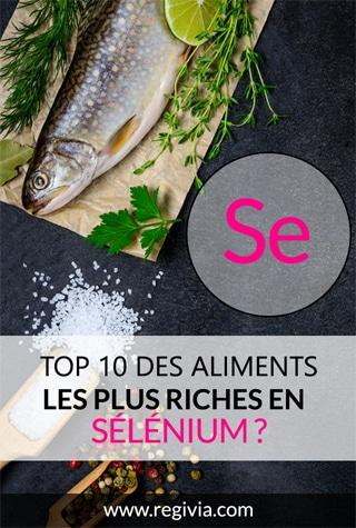 Top 10 des aliments les plus riches en sélénium