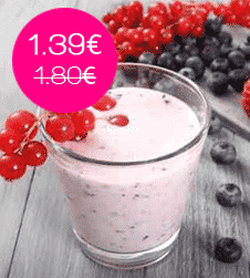 Yaourt fruits rouges